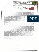Declaration of Family Trust