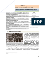 Tema 10. La Crisis de La Restauración _1902-1931