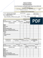Copy of School Form 10 SF10 Learners Permanent Academic Record for Junior High School