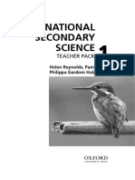 International Secondary Science Teacher Pack 1