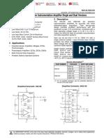 Amplificador diferencial TI
