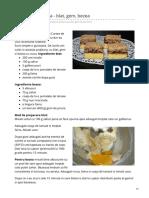 Bucatariairinei.ro-prajitura Poloneza - Blat Gem Bezea