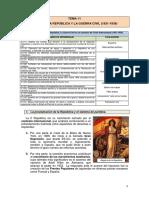 Tema 11. La Segunda República y La Guerra Civil _1931-1939