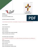 Programa Fiesta Patronal