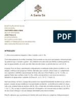 Hf Jp-II Exh 25031992 Pastores-dabo-Vobis