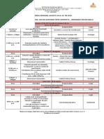 29. Agenda Semana Agosto 26 Al 30 de 2019