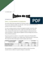 Budget de Production ETUDE de CAS