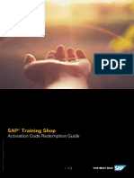 SAP Activation Code Guide 519