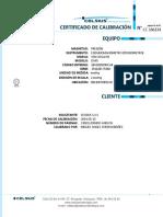 Cc 166334 Certificado de Calibracion Esfigmomanómetro Mec_17025