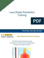 Heat Illness Training