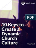 10 Keys Create Dynamic Church