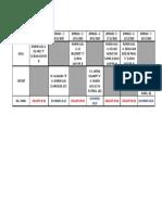 Cadet Calendari