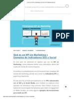 ¿Qué Es Un KPI en Marketing y Para Qué Sirve