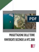 Presentazione Maccaferri_NTC 2008 e Le Terre Rinforzate