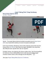 Ada Diskualifikasi, Panjat Tebing Putri Tetap Sumbang Emas Asian Games 2018(1).docx