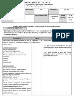 evaluación de proyecto