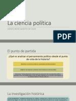 La Ciencia Política