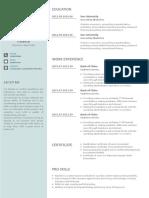 2General Resume-WPS Office