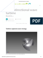 The Bidirectional Wave Turbine - AskNature