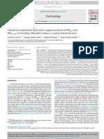 5. Composición Química y Distribución de La Fuente de Pm2.5 y Pm2.5–10 en Trombay (Mumbai, India), Un Área Industrial Costera