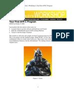 Workshop 2. - Your First AVR C Program