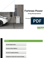 Fortress Power Energy Storage Presentation 2019