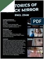 ENGL 334W Tech Writing, F19, Richards (Black Mirror)