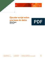 WP2016.1.093 - Ejecutar Script Sobre Una Base de Datos