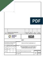 3957 00 00ge Pr Co Pr 008i a Procedimiento de Gestión y Configuración Del Icaps