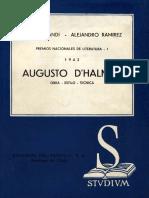 Augusto D'Halmar, Crítica.