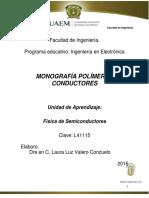 MONOGRAFIA-POLÍMEROS CONDUCTORES