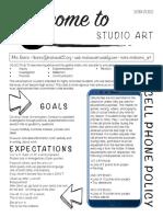 studio syllabus