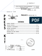 Mariner Mars 1969 Launches - Press Kit
