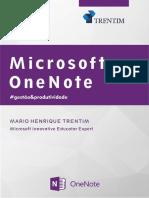 Livro Microsoft OneNote 2016 Trentim
