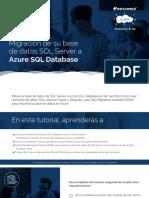 Migración de su base de datos SQL Server a Azure SQL Database