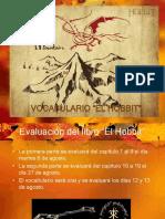 """Vocabulario """"El Hobbit"""""""