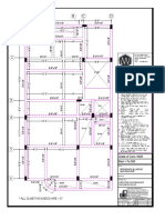 Ground Floor Shuttering Plan