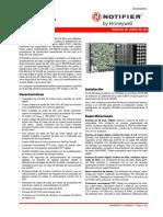 Data sheet Amplificador DS-DB  NOTIFIER - Español