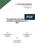 2014112610142611 PR 03-05-07 Procedimiento Para Elaborar Actualizar Organigramas en La APE