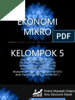 Klp 5 Ekonomi Mikro