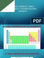 Enlace Químico y Nomenclatura Quimica