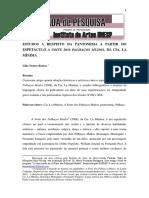 Lilia n. Bastos Estudos a Respeito Da Pantomima A