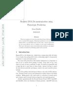 Realistic DNA de-Anonymization Using Phenotypic Prediction