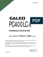 15129942-Komatsu Pc400lc-8 Hydraulic Excavator Service Shop Repair Manual