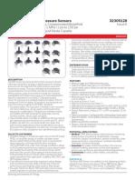 Honeywell ABP sensors datasheet