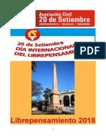 Folleto Dia Del LP 2018