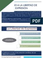 Derecho a La Libertad de Expresion