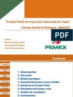 Inyeccion Alterna de Vapor en El Activo Samaria Neogeno