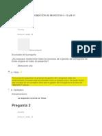 Evaluaciones Clase 6- Direccion de Proyectos 1