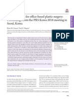 Safe Anesthesia for Office-based Plastic Surgery